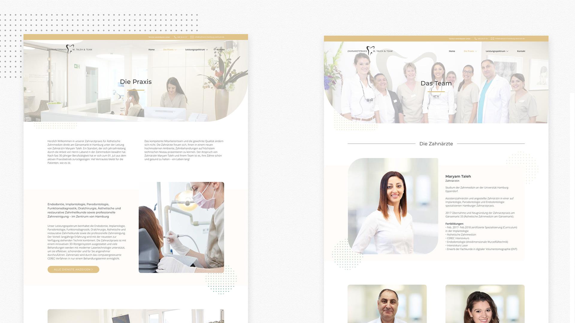 Projekte – Zahnarztpraxis 2